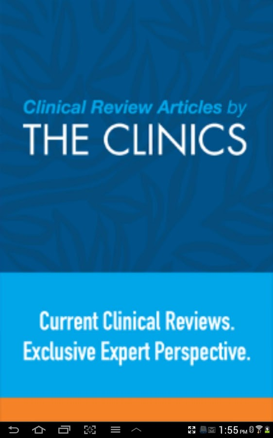 Clinics Review Articles - screenshot