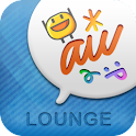 LOUNGE for au logo
