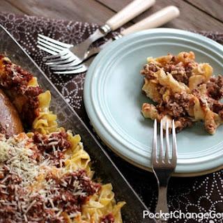 Beefy Noodle Casserole Recipe