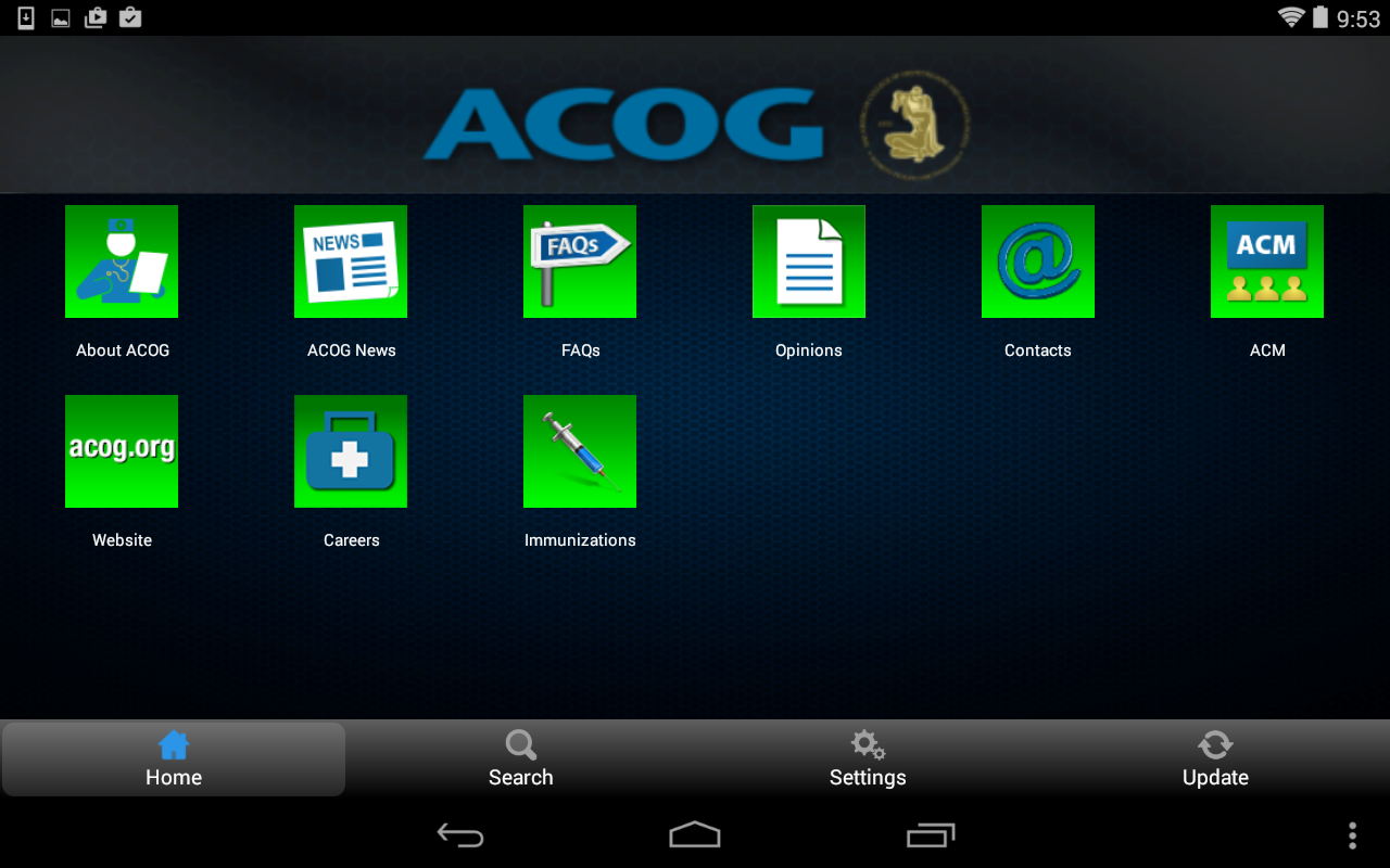 ACOG - screenshot