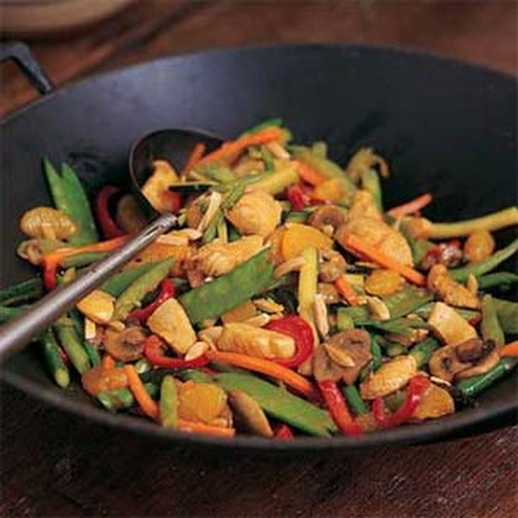 Chicken-Orange Stir-Fry Recipe