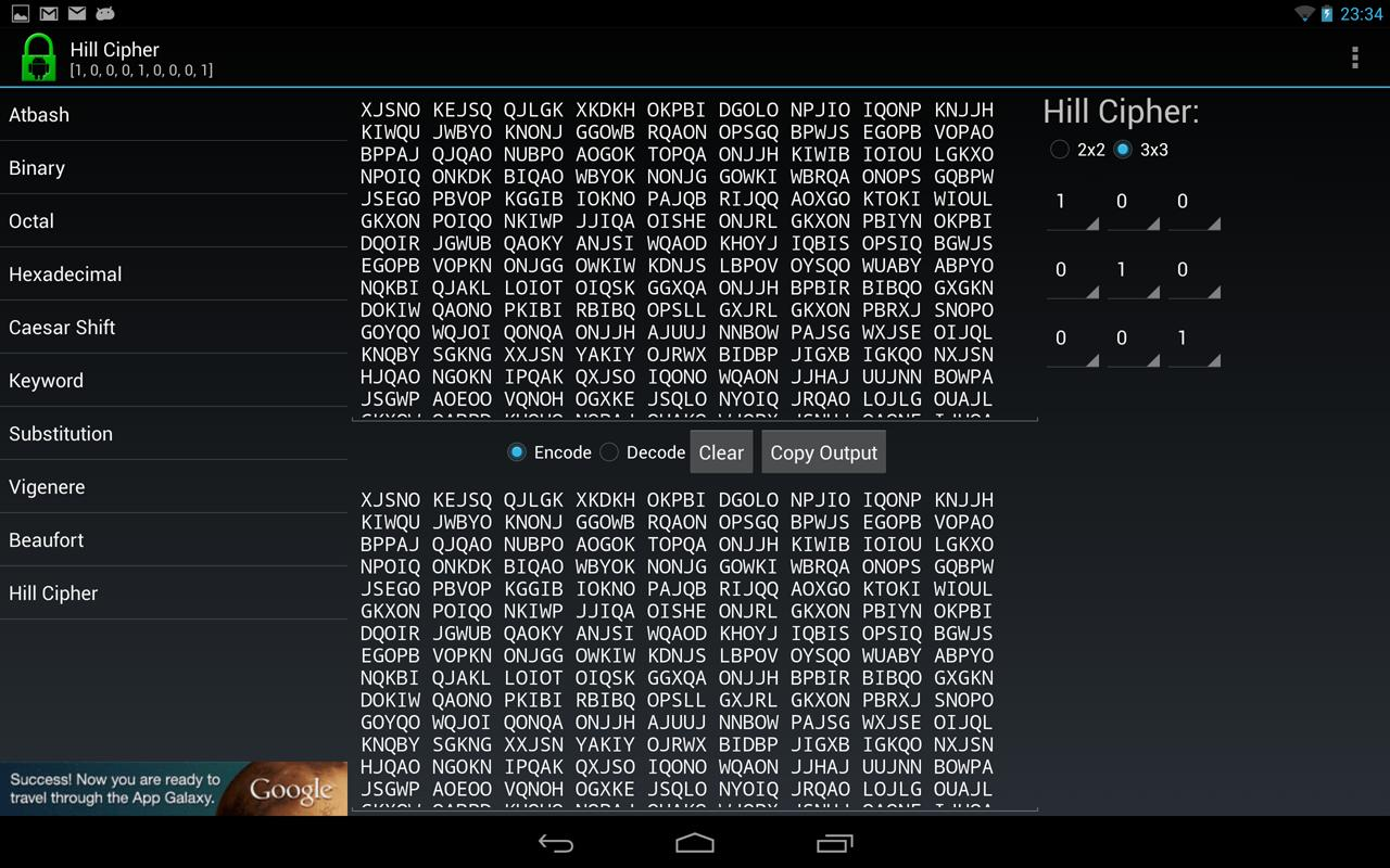 Decipher - Code and Cipher Kit - screenshot