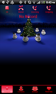 GO Contacts EX Christmas Theme screenshot 1