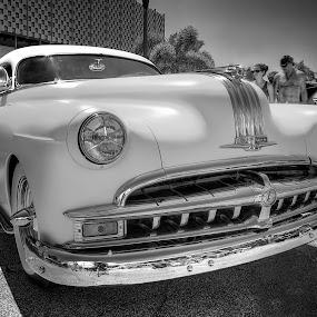 Pontiac B&W by David Kawchak - Transportation Automobiles ( chopped pontiac, b&w pontiac, custom pontiac, chopped custom pontiac, pontiac )