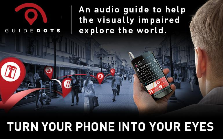 Guide Dots Audio Walking Guide- screenshot