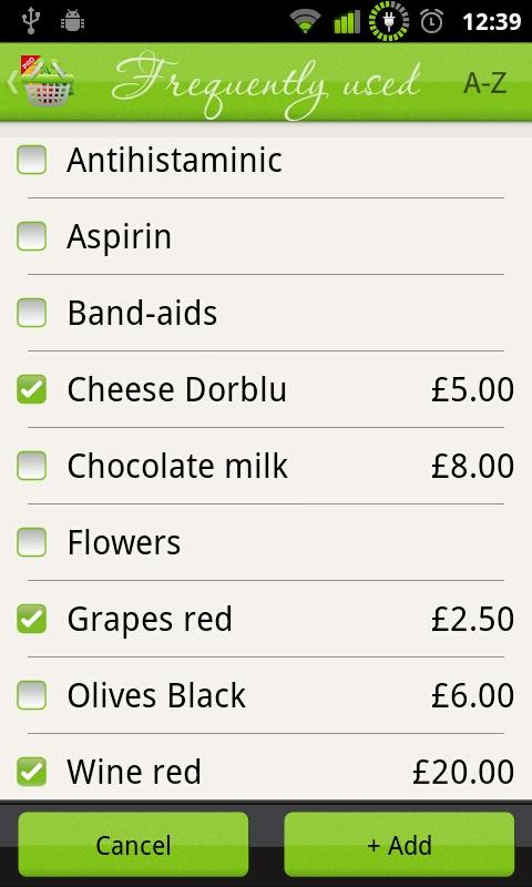 Let It Shop - Shopping List- screenshot