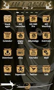 Ichigo GO Launcher EX - screenshot thumbnail