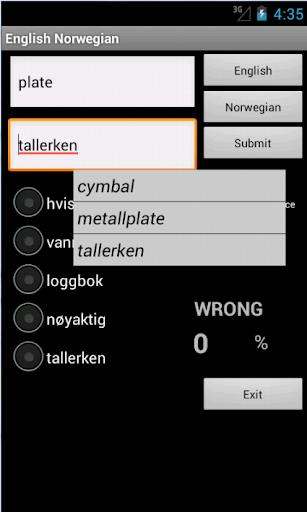免費教育App|Learn English Norwegian|阿達玩APP