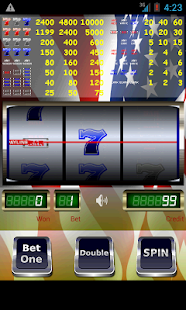Red White Blue 7 Slot Machine - screenshot thumbnail