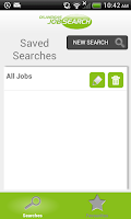 Screenshot of Oil And Gas Job Search
