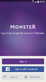 Monster Job Search Screenshot 1
