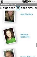 Screenshot of Heimann.s Agentur