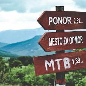 Signs by Zec Mladen - Uncategorized All Uncategorized ( sign, signs, mountain, nature, landscape,  )