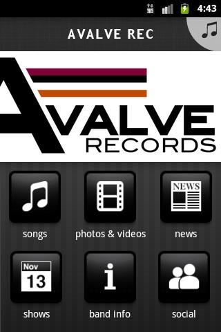 AVALVE REC - screenshot