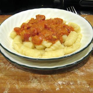 Passover Gnocchi Pasta
