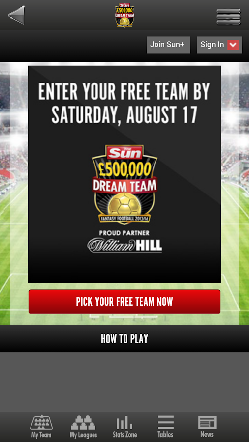 The Sun Dream Team - screenshot