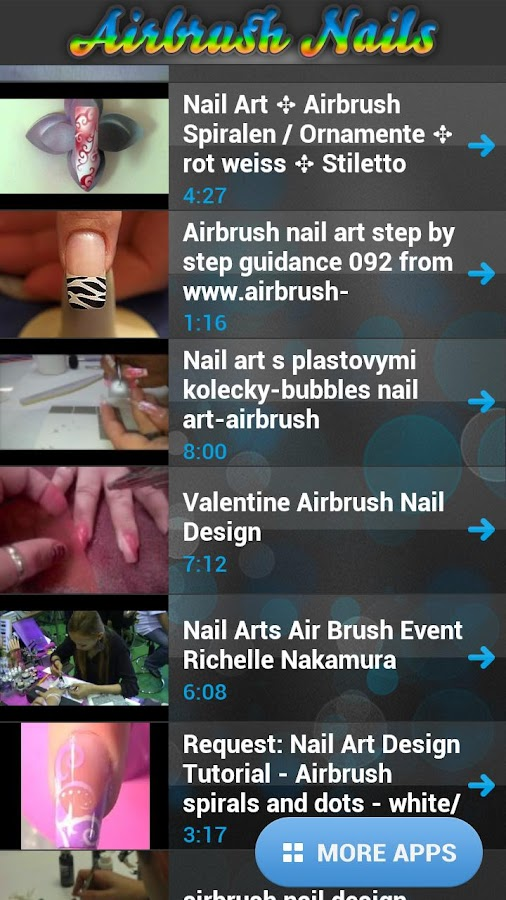 Perfect Airbrush Nail Art - screenshot