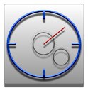Chronomet timer and stopwatch icon