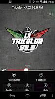 Screenshot of La Tricolor 99.9
