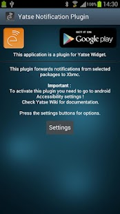 Yatse Notification Plugin - screenshot thumbnail