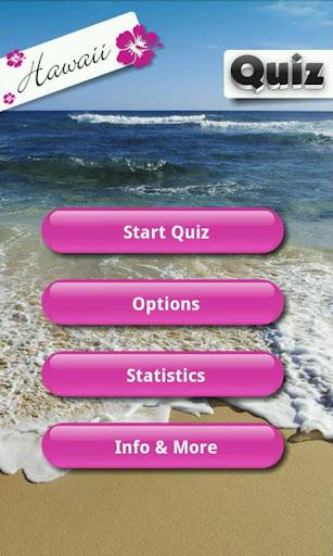 Hawaii Quiz Game