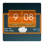 3D Flip Clock Theme Pack 05 1.1 Apk