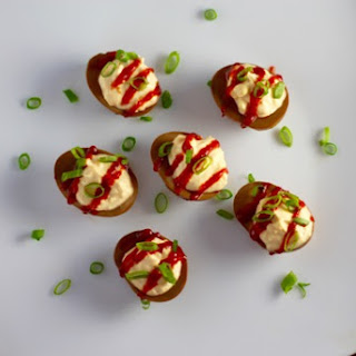 Soy Sriracha Deviled Eggs