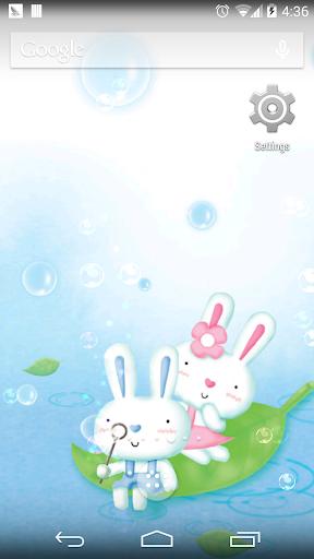 可愛兔子壁紙