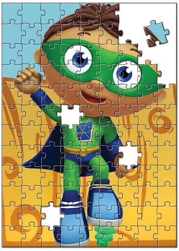 Kids Super Why Puzzle