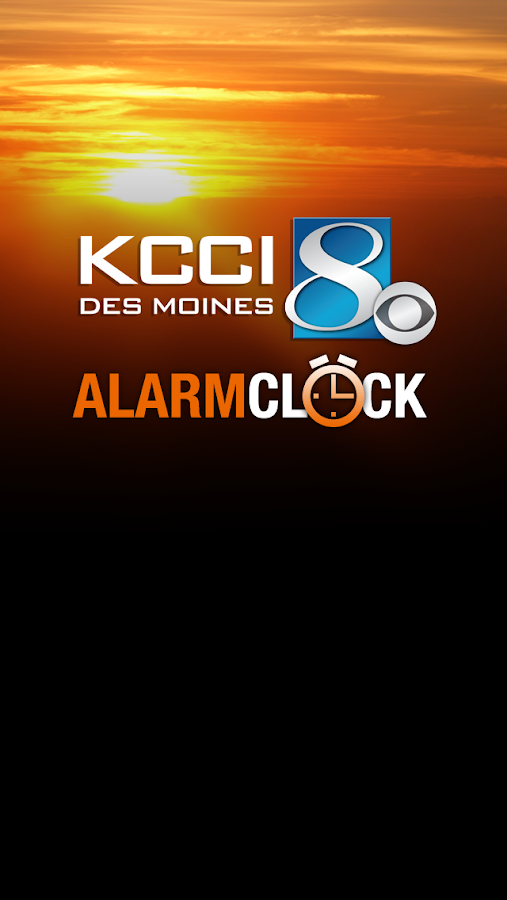 Alarm Clock KCCI 8 News - Iowa- screenshot