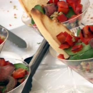 Tapas-style Pepper Steak Parfaits (small Plates, Big Taste)
