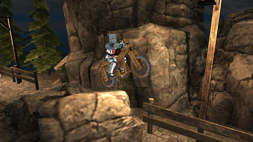 Knight Biker