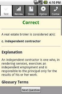 Real Estate Broker Exam Prep- screenshot thumbnail