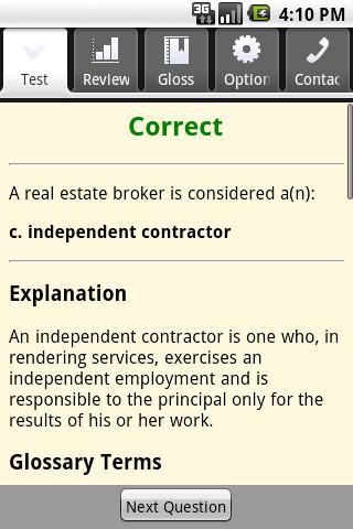 Real Estate Broker Exam Prep- screenshot
