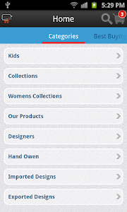 Magento Android Application screenshot 2