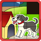 Animal Slide Puzzle for Kids icon