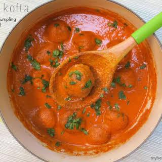 Malai Kofta Vegetarian Meatballs.