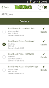 Basil Doc's Pizza - screenshot thumbnail