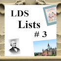LDS Lists #3 (Mormon) icon