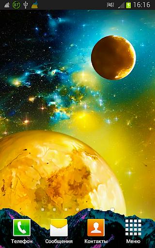 Galaxy Космос Живые Обои