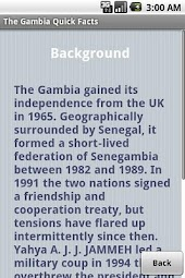 Gambia Quick Facts