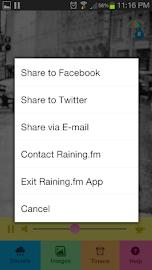 Raining.fm - Rain Sounds Screenshot 5