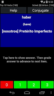 Spanish Verb Trainer- screenshot thumbnail
