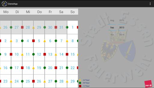 【免費工具App】BF Essen Dienstplan-APP點子
