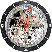 Montre Squelette Tell Ronde NC
