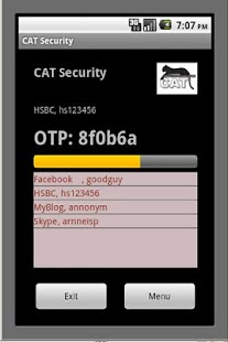 CAT Authentication Token- screenshot thumbnail