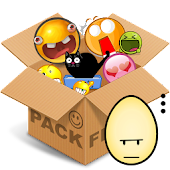 Emoticons pack, Egg color