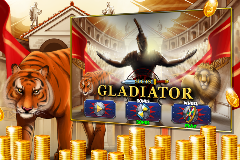 free gladiator slot machine game