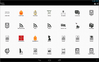 Screenshot of iCorps: Pocket Reference