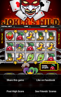 Jokers Wild Slot Machine HD- screenshot thumbnail